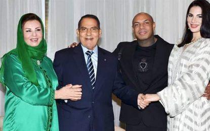 Dernière photo de Zine Ben Ali et son épouse Leila Trabelsi
