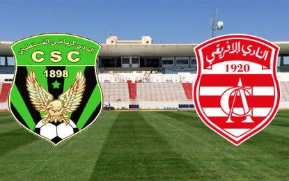 Ligue des champions : Club africain-CS Constantine sera joué à Sousse