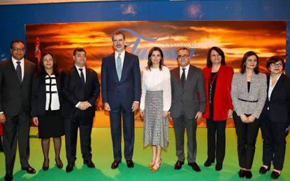 Madrid : Le roi d'Espagne au stand tunisien avec René Trabelsi (Photos)