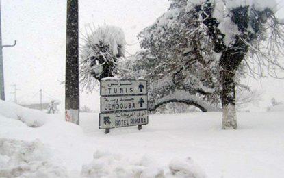 Vague de froid en Tunisie et températures en chute libre