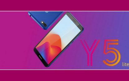 Le nouveau Huawei Y5 lite commercialisé à 359 dinars tunisiens