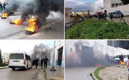 Tunisie : Des actes de grabuge dans les manifestations des élèves