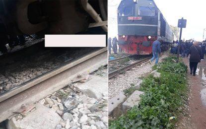 Manouba : Un homme décède écrasé par un train à Tebourba