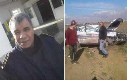 Sidi Bouzid : Décès d'un douanier dans un accident de la route
