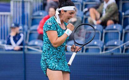 Tennis : Ons Jabeur gagne deux places au classement mondial