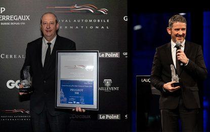 Peugeot doublement distingué au Festival Automobile International