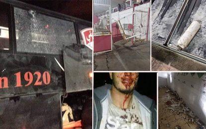 Club africain-CS Constantinois : Violence et vandalisme à Sousse (Vidéo)