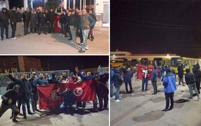 Grève générale : Les agents de la Transtu affichent leur fierté