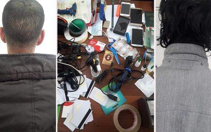 Tunis : Arrestation de 2 étrangers pour falsification de cartes bancaires