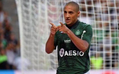 Wahbi Khazri mal récompensé par les fans de Saint-Etienne