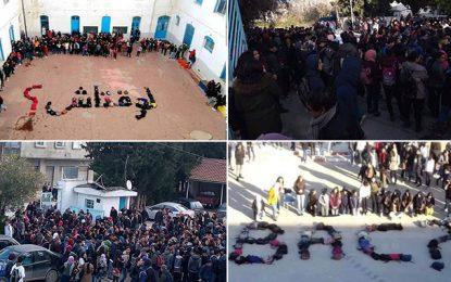 Le ras-le-bol des élèves : Manifestations dans plusieurs régions (vidéo)