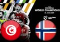 Tunisie-Norvège : Handball mondial 2019