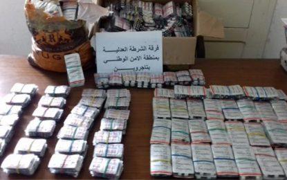 Trafic : Saisie de médicaments d'une valeur de 65.000 DT au Kef