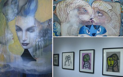 Sidi Bou Said : Exposition à la Galerie Saladin au profit de l'association Darna