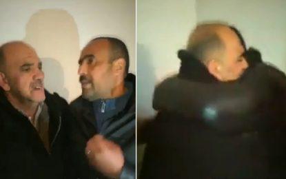 Emouvante rencontre entre le père de la fille violée et le suspect innocenté (vidéo)