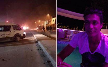 Nuit de Heurts à Barraket Essahel suite au décès de Ayoub lors de son arrestation