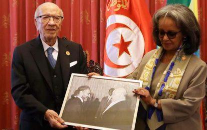 La présidente de l'Ethiopie : Les Tunisiennes doivent briguer la présidence
