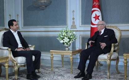 Caïd Essebsi solidaire avec Belloumi, victime d'une campagne takfiriste