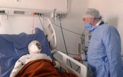 Ben Salem au chevet de l'enseignante blessée dans l'explosion à El-Mourouj