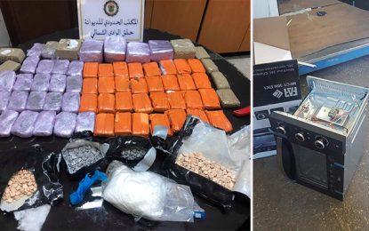 La Goulette : Cocaïne, ecstasy et cannabis en possession de 2 voyageurs