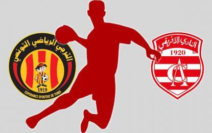 Coupe de Tunisie de handball: Club africain-Espérance en 8e de finale