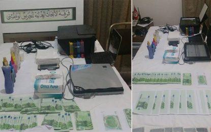 Sidi Bouzid : Saisie de faux billets de dinars et d'euros