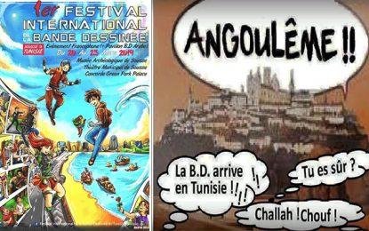 Lancement du 1er Festival international de la bande-dessinée en Tunisie