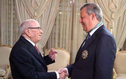Centenaire de l'Espérance : Meddeb décoré par le président Caïd Essebsi