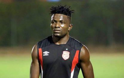 Le Club africain perd Mouchili pendant un mois et demi