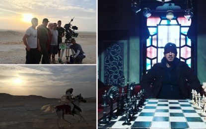 Le feuilleton « Kingdoms of fire » en tournage en Tunisie