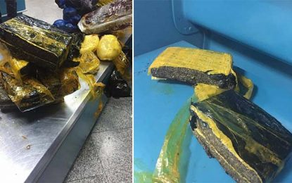 Aéroport Tunis-Carthage : Une Subsaharienne en possession de 4 kg de marijuana
