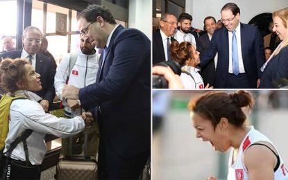 Aéroport Tunis : Les para-athlètes rentrent avec 40 médailles et 2 records du monde