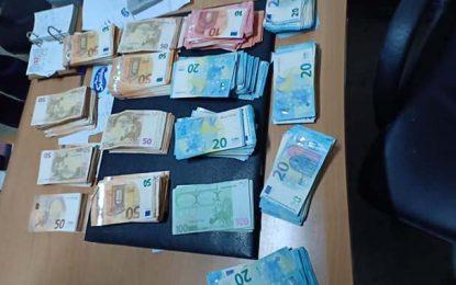 Sousse : Un Algérien en possession illégale de 40.000 euros