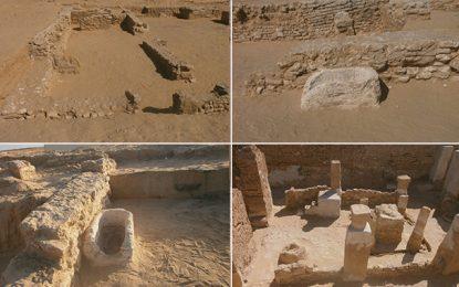 Archéologie: Découverte de bâtiments résidentiels au site Castilia à Tozeur