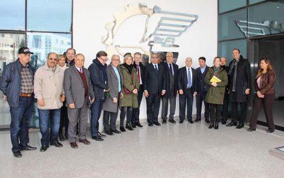 Utica : Rencontre entre des hommes d'affaires tunisiens et bretons