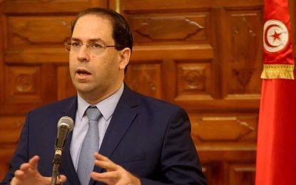 Youssef Chahed se félicite du retour au calme sur le front social
