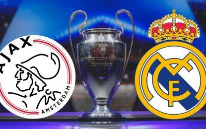 Ajax-Real Madrid : match aller en Direct
