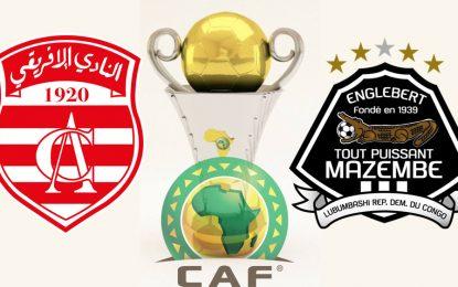 CA-Mazembe : match retour CAF en direct