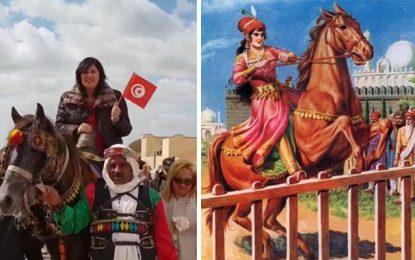 Abir Moussi et Raziya Sultana : une histoire de chevaux !