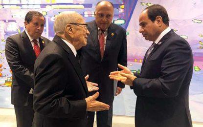 Sommet arabe de Tunis : Abdelfattah Al-Sissi se décommande