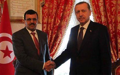 Ali Larayedh chante les louanges d'Erdogan