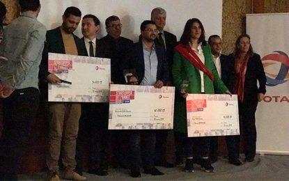 TotalTunisie récompense les gagnants du 2e Challenge Startupper