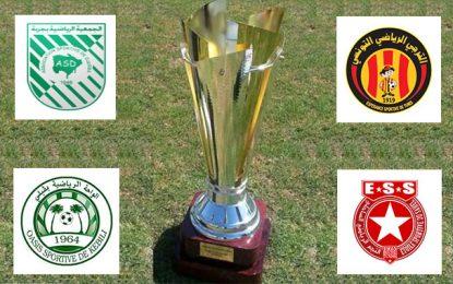 Coupe de Tunisie-8e de finale : Programme, arbitres et transmissions TV