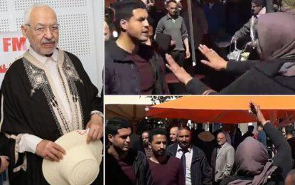 Ghannouchi interpellé par une femme à Djerba: «Assassin, dégage!» (vidéo)
