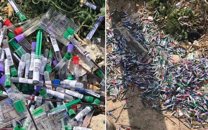 Khezama : Des dizaines de seringues usagées jetées près d'un collège