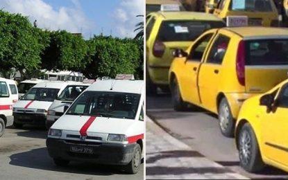 Tunisie : Taxis et louages en grève de 3 jours à partir du 26 mars 2019