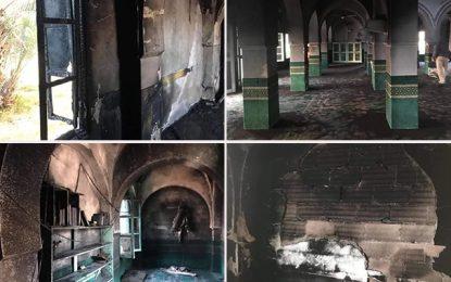 Kasserine : Incendie à la mosquée El-Abadela à Sbeïtla