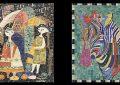 La Marsa : Les mosaïques de Najiba Maamar à Galerie Fenyedi