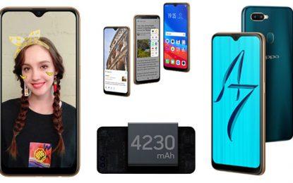 Smartphone : Oppo étoffe sa série A avec le A7 à 799 DT