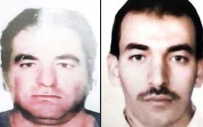 Le ministère de l'Intérieur recherche deux dangereux terroristes